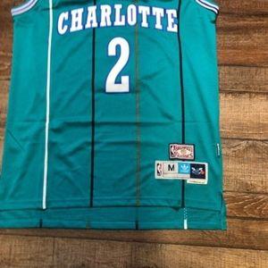 NWT Larry Johnson Charlotte Hornets NBA Jersey NEW